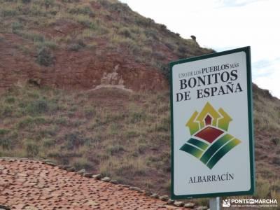 Albarracin y Teruel; acueducto de segovia zuheros hayedo guadalajara valle del pas